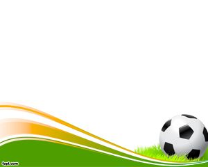 Soccer ball is a. Football clipart powerpoint background