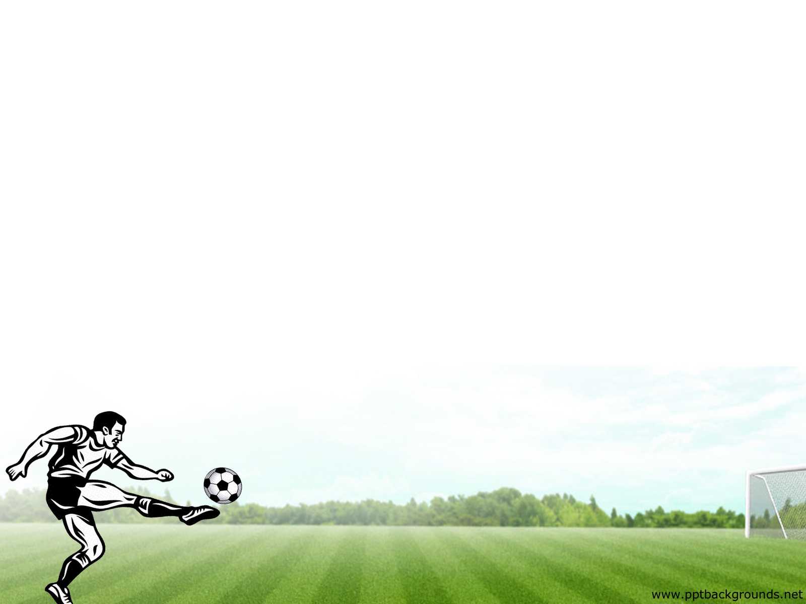The man playing backgrounds. Football clipart powerpoint background