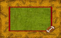 Football clipart powerpoint background. Cover page grungy athlete