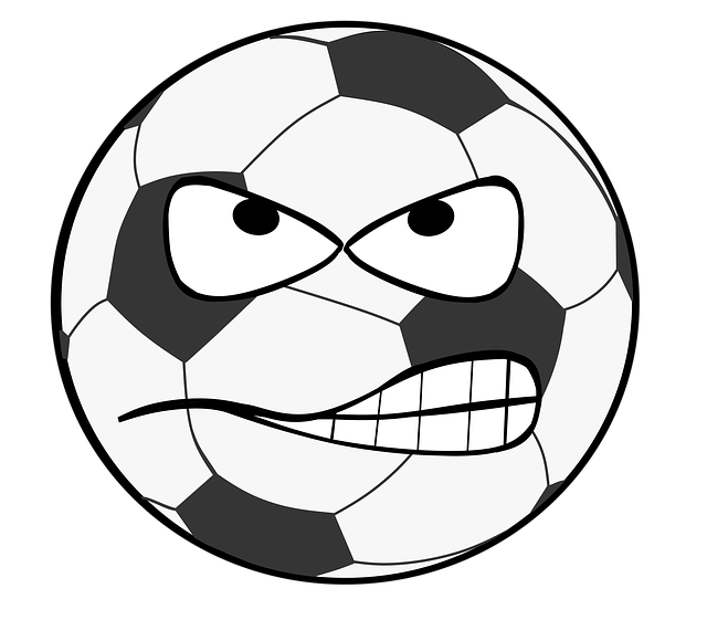Football face clipart png royalty free stock Free photo Football Clip Art Goal Flank Smiley Evil Shot - Max Pixel png royalty free stock