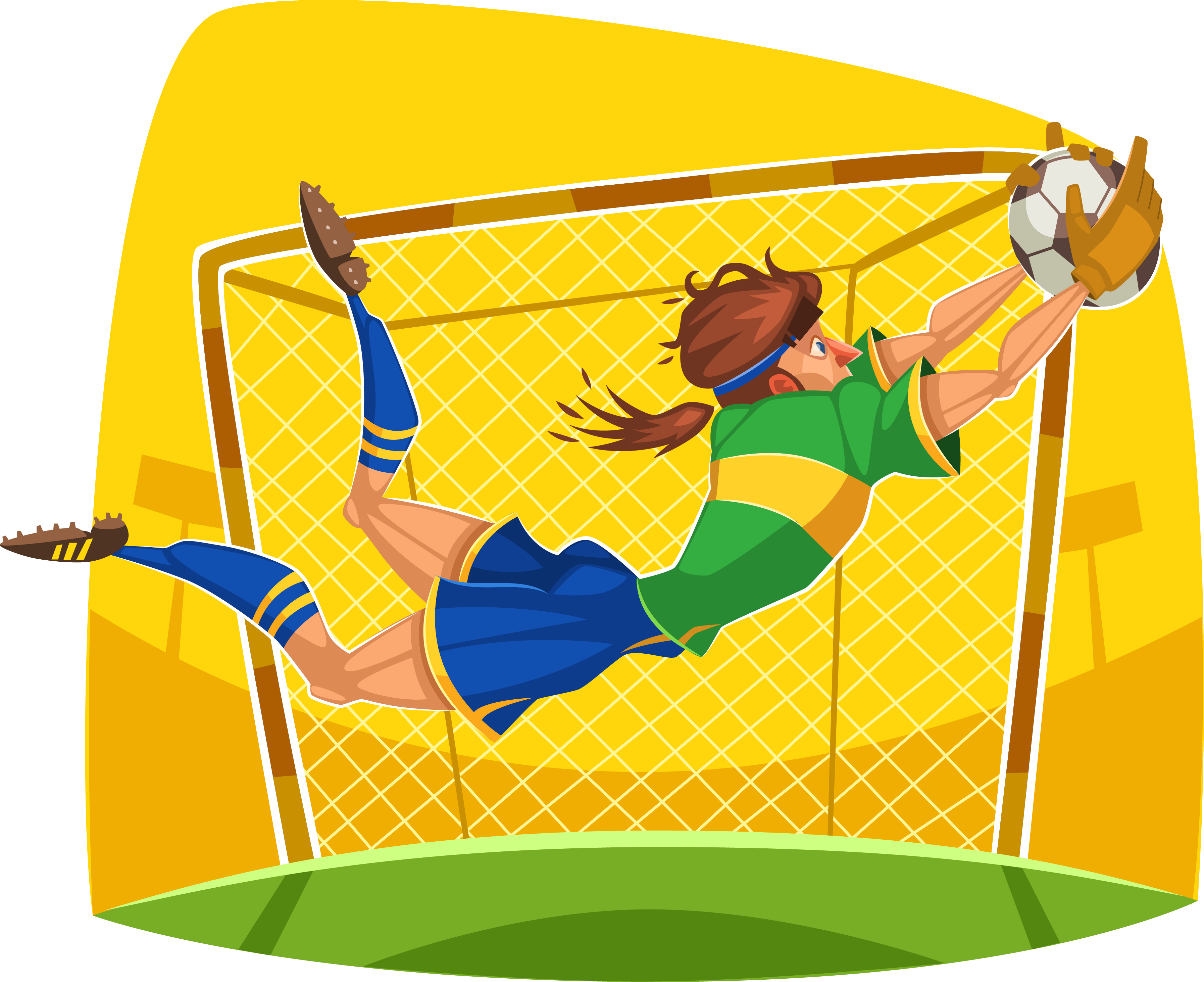 Football field background clipart transparent download Cartoon Sport Clip art - football 3588*2925 transprent Png Free ... transparent download