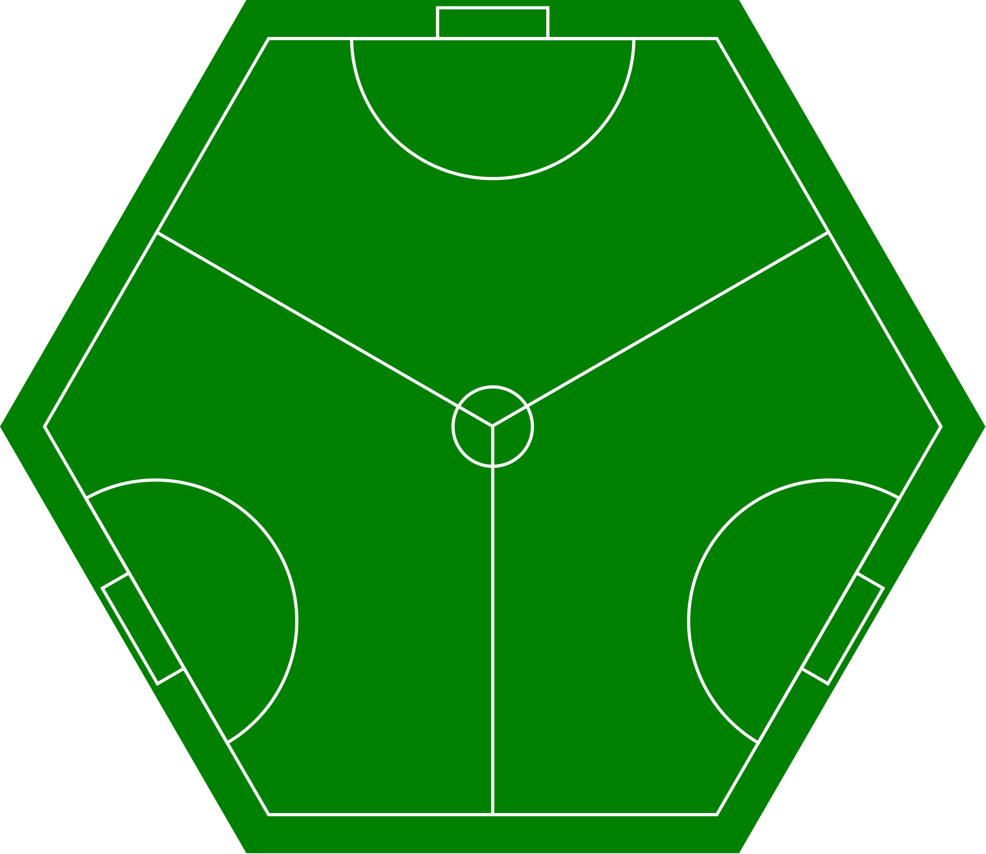 Free football field clipart svg free File:Three sided football pitch.svg - Wikimedia Commons svg free