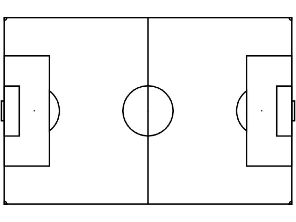 Football field numbers clipart black and white. Free printable soccer diagram