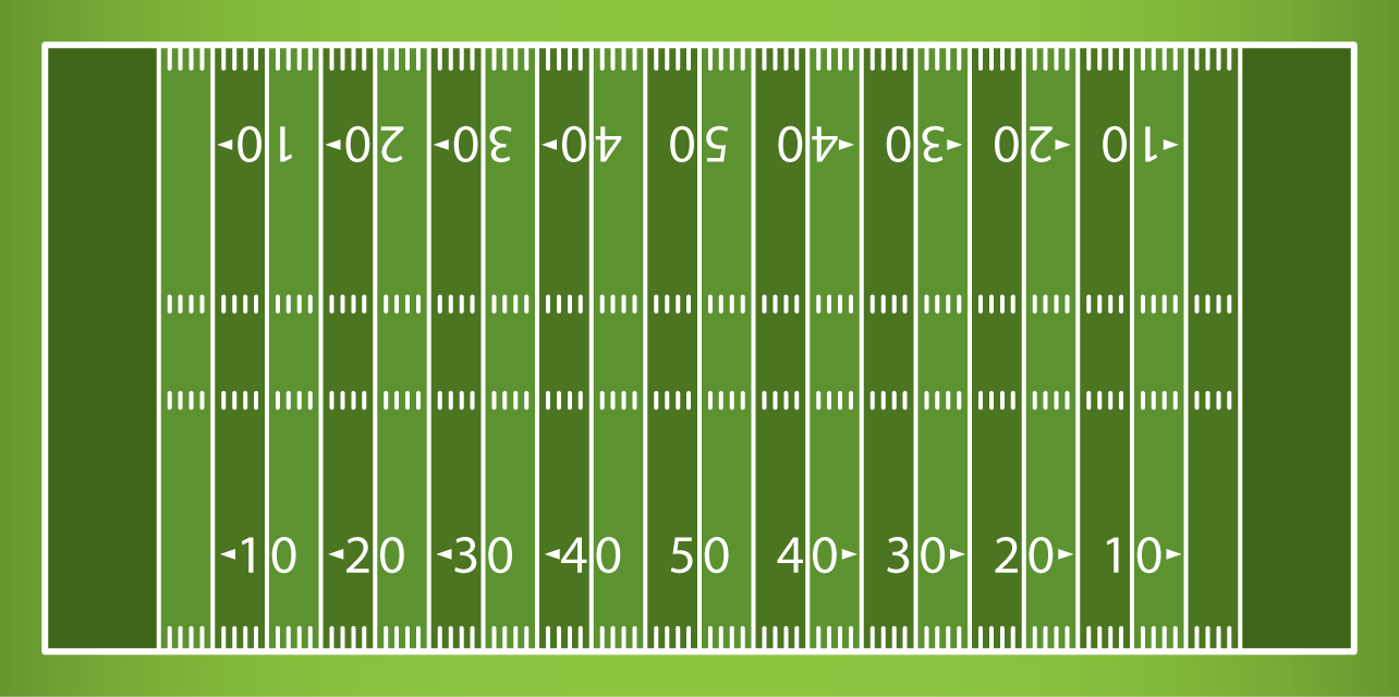 Football numbers field clipart black and white. Clip art look at