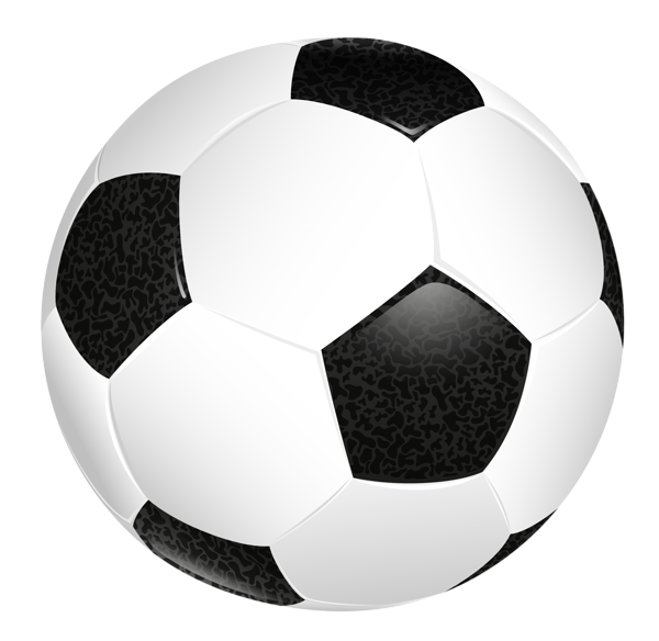 Soccer ball transparent png. Football injuries clipart