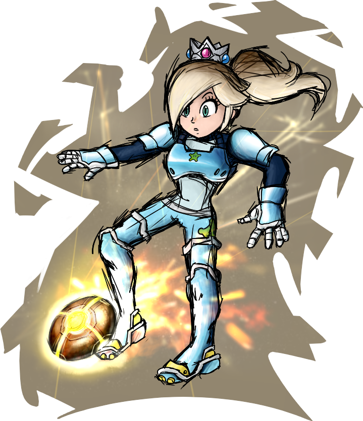 Mario strikers something probably. Football field ruler clipart