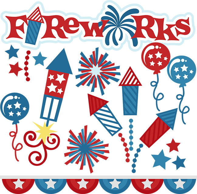 Svg cut files for. Football fireworks after the game clipart