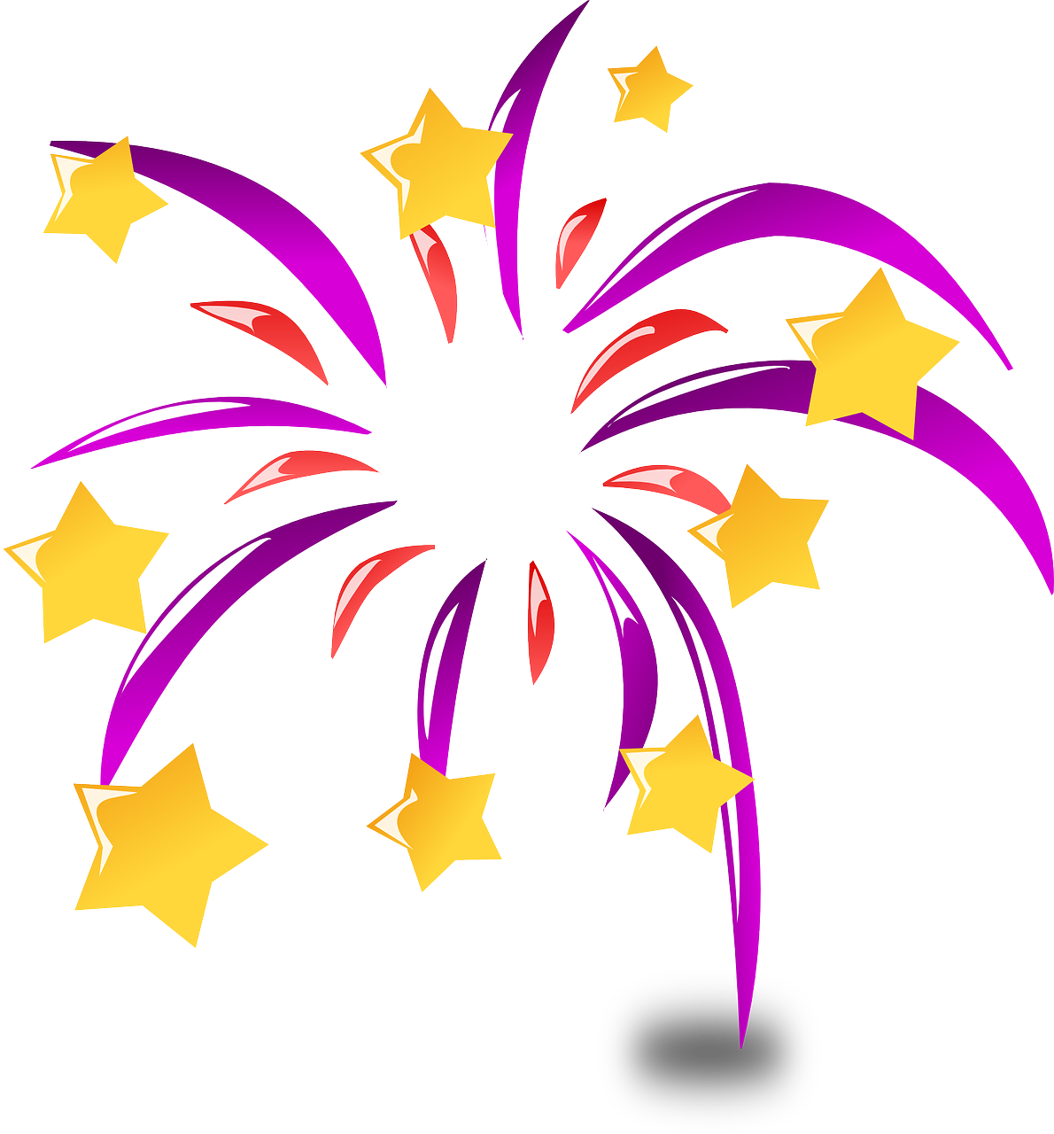 Gratis afbeelding op pixabay. Football fireworks after the game clipart
