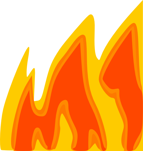 Fire panda free images. Football flames clipart