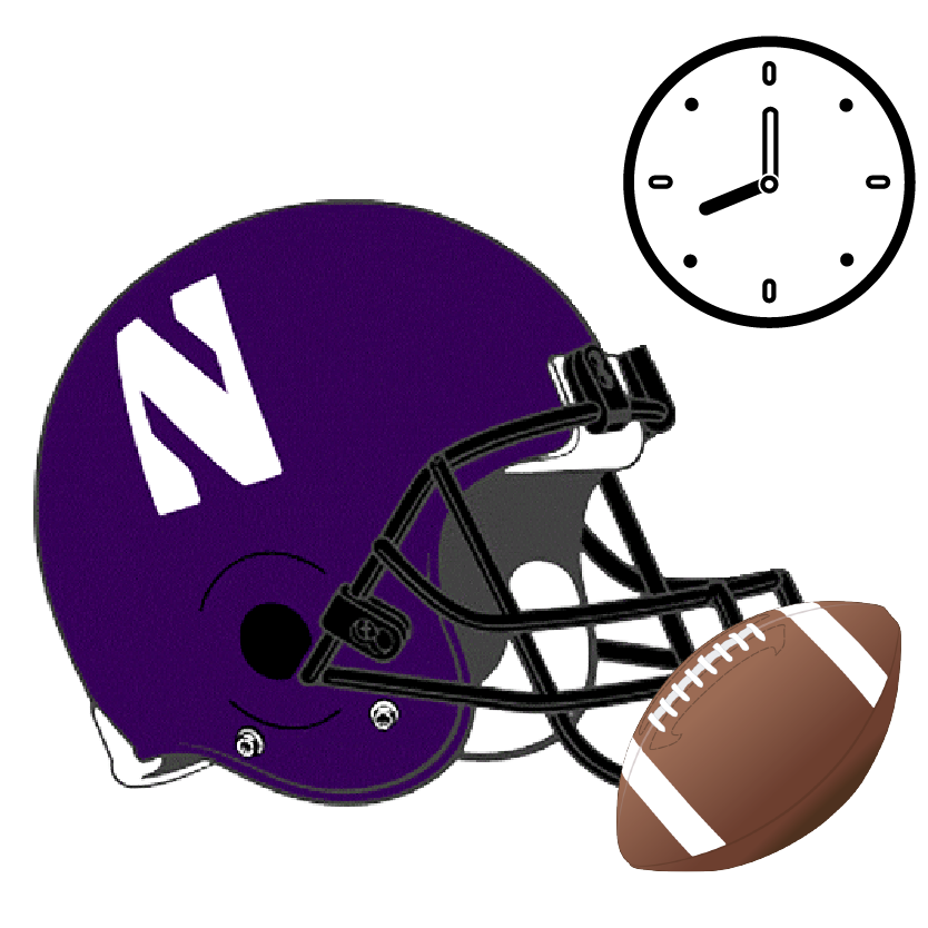 Ole miss football helmet clipart clip art freeuse download Northwestern: Game Day Itinerary — Daytripper University clip art freeuse download