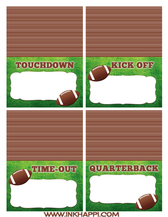 Football game day clipart graphic transparent Game Day Ideas - Lil' Luna graphic transparent
