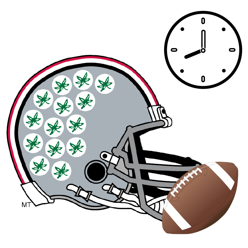 Osu football clipart clipart free Ohio State Game Day Itinerary — Daytripper University clipart free