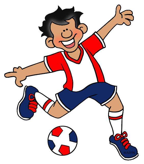 Football games clipart clipart royalty free download Toys and Games Clip Art by Phillip Martin, Soccer clipart royalty free download