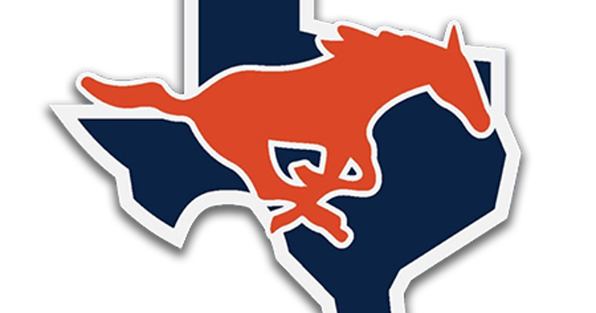 Football garland clipart banner stock Sachse Mustangs | SportsDayHS.com banner stock