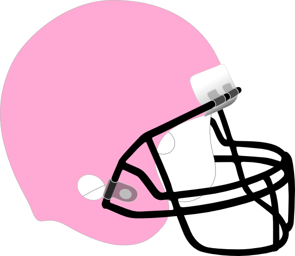 Pink football helmet clipart banner royalty free Girl Football Helmet Clipart banner royalty free