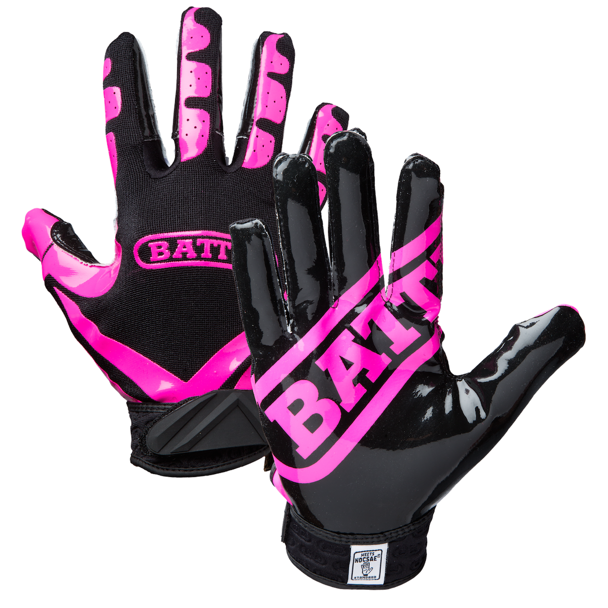 Football glove clipart clip black and white Receiver pink clipart clip black and white