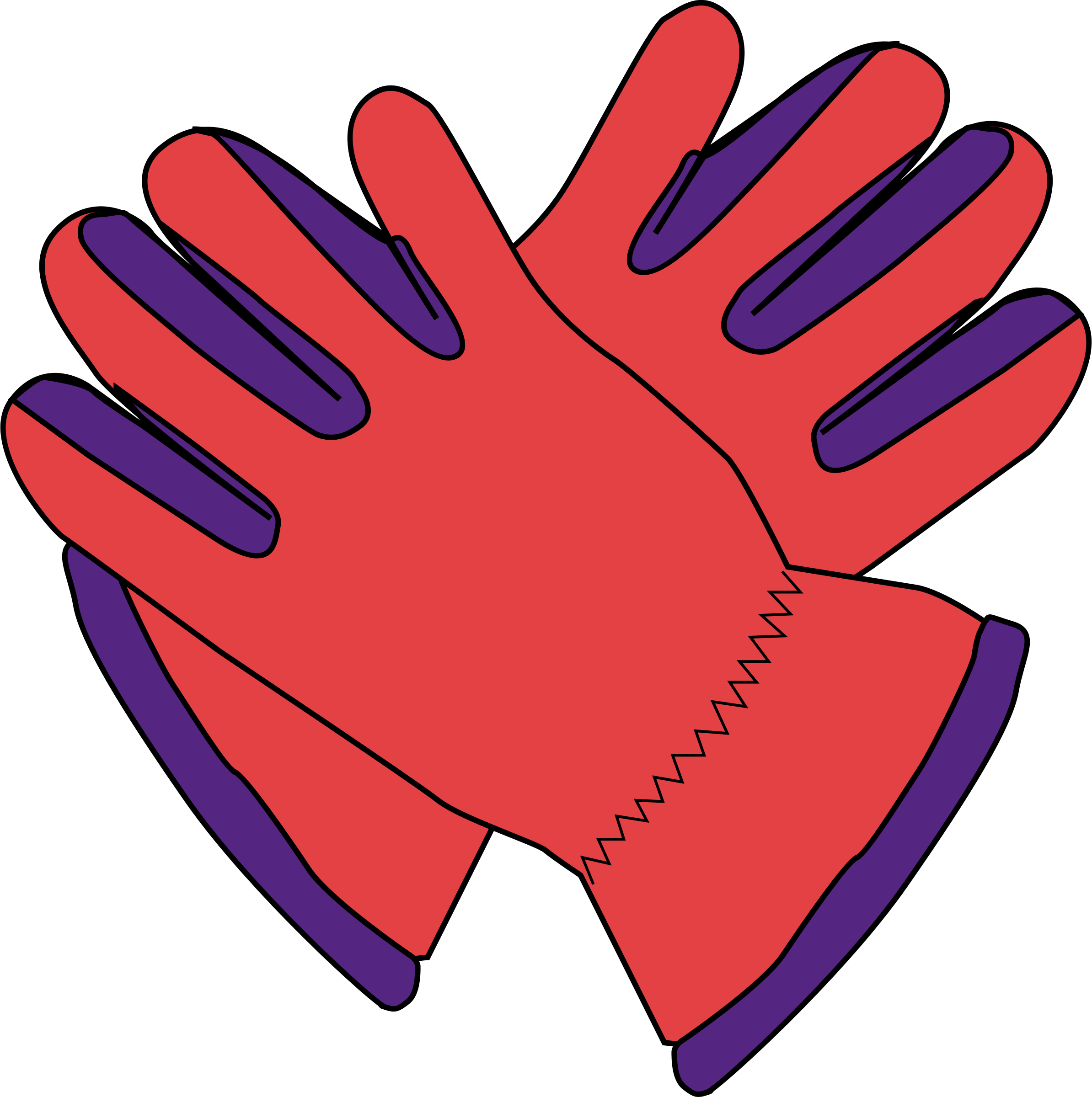 Football glove clipart picture transparent library Gloves Icons PNG - Free PNG and Icons Downloads picture transparent library