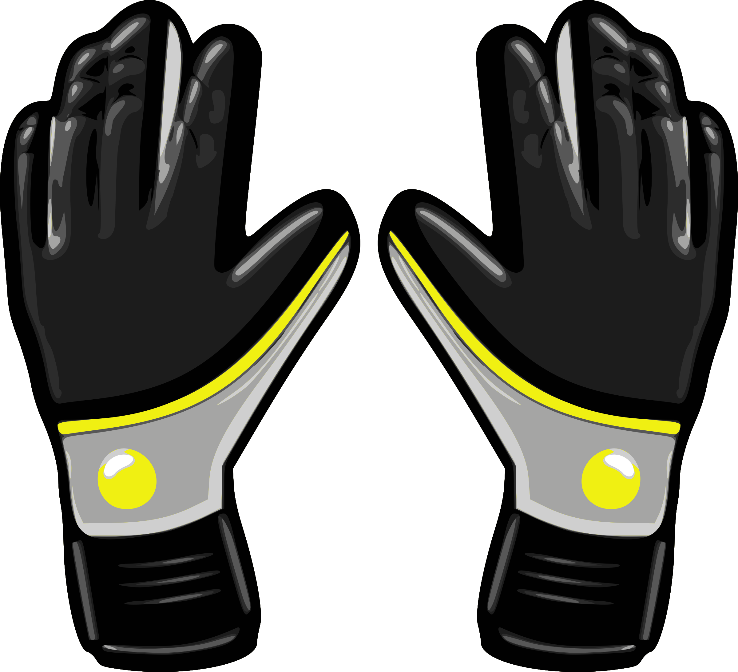 Football glove clipart image free download Clipart - Gloves 5 image free download