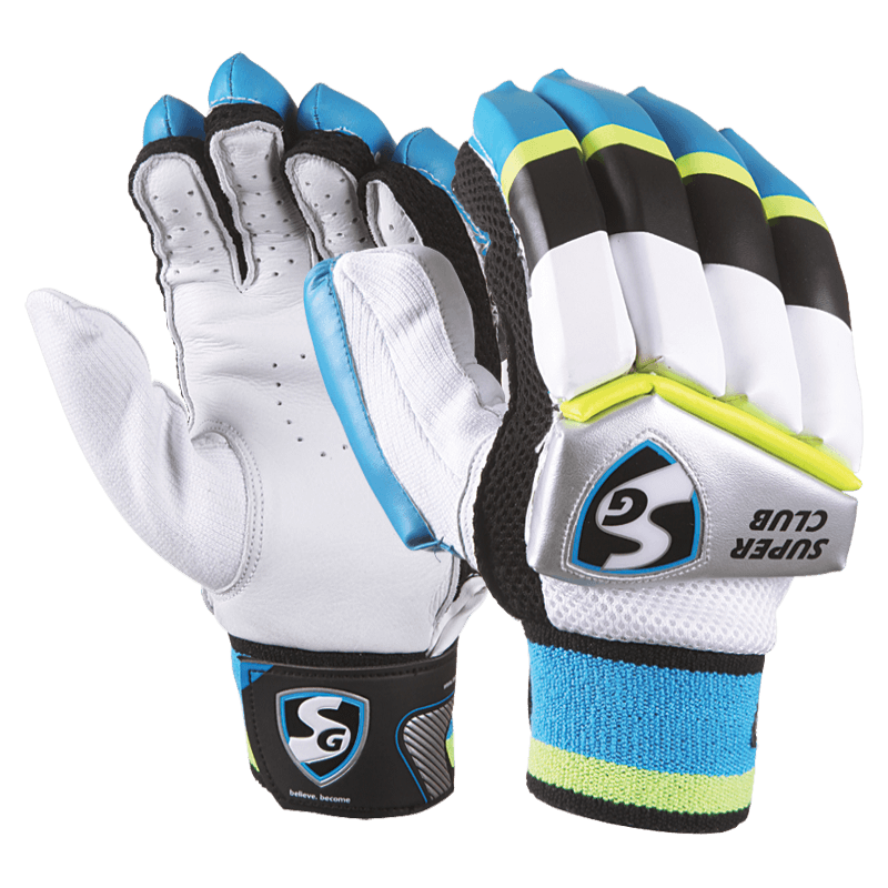 Football glove clipart banner black and white download SG Batting Gloves - First Choice Cricket banner black and white download