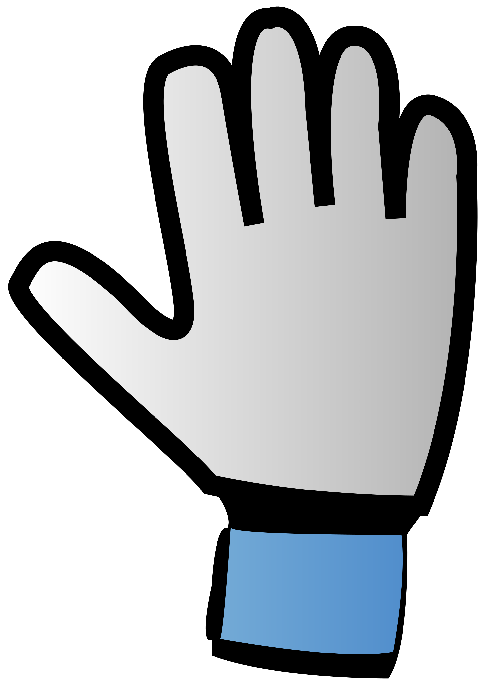 Football gloves clipart vector royalty free library File:Goalkeeper glove icon.svg - Wikimedia Commons vector royalty free library