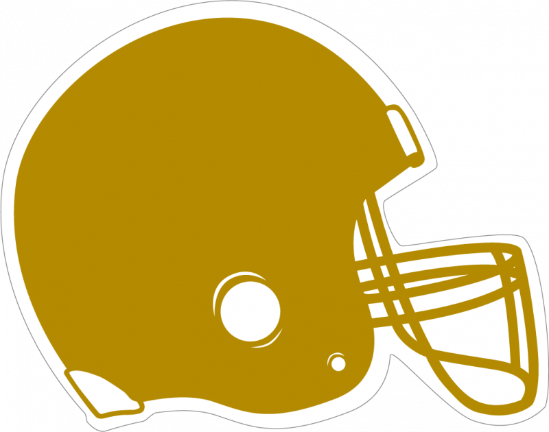 Gold football clipart