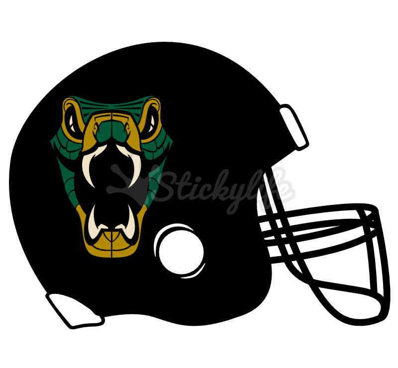 Pink football helmet clipart image freeuse stock Football Helmet Decals - Custom Helmet Shaped Window Sticker image freeuse stock