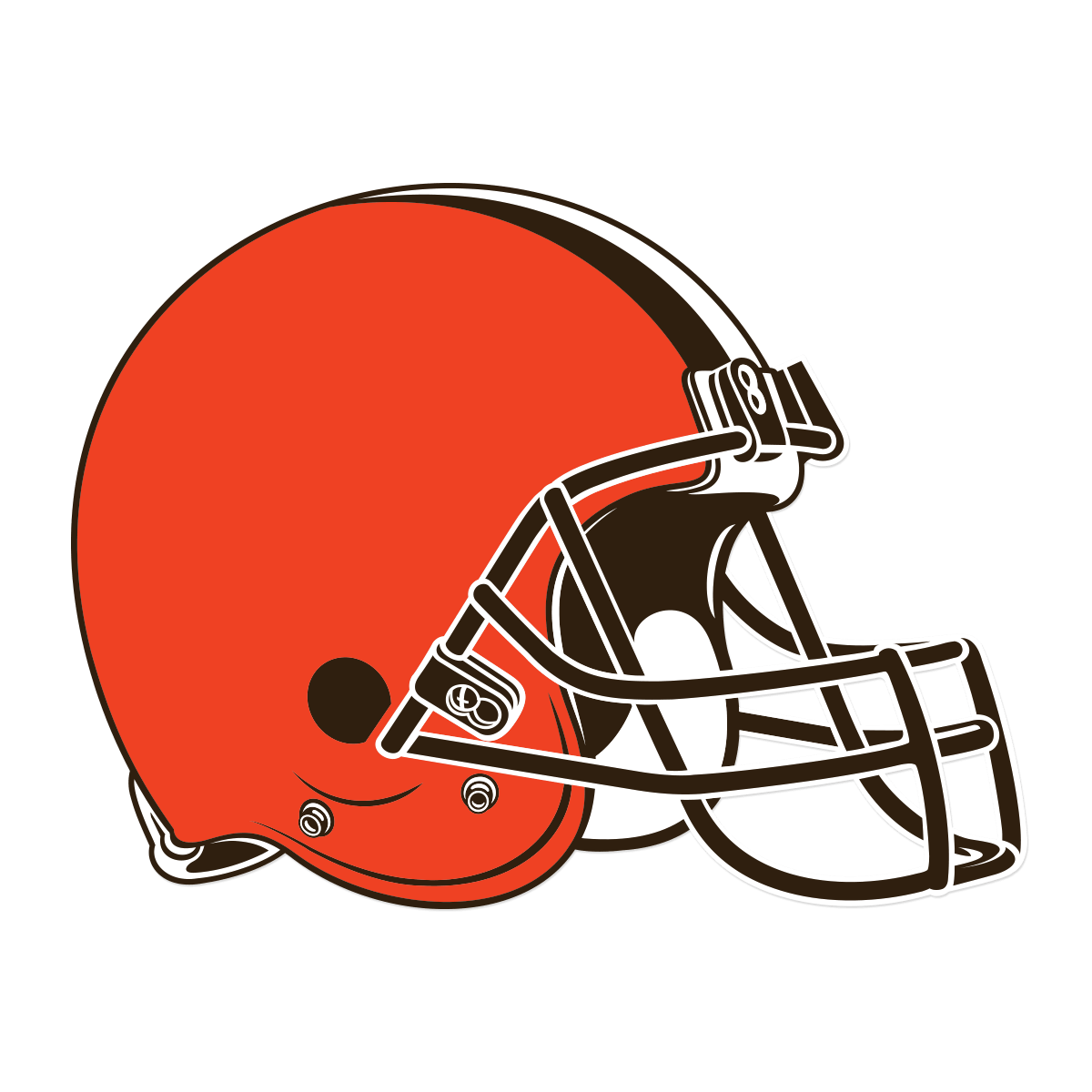 Football helmet front texans clipart banner black and white stock 2015 vs 2014 Browns logo animated GIF comparison : nfl banner black and white stock