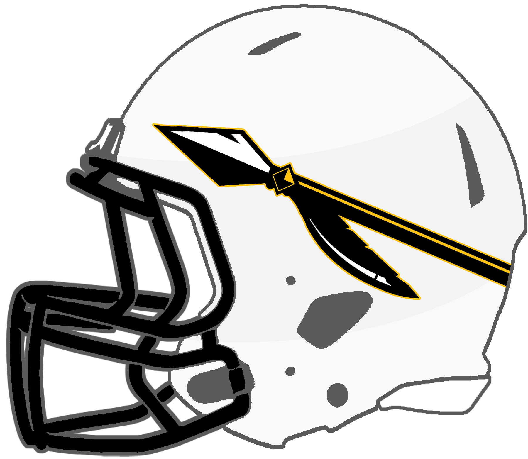 Wildcat football clipart clipart black and white download Mississippi High School Football Helmets: 6A clipart black and white download