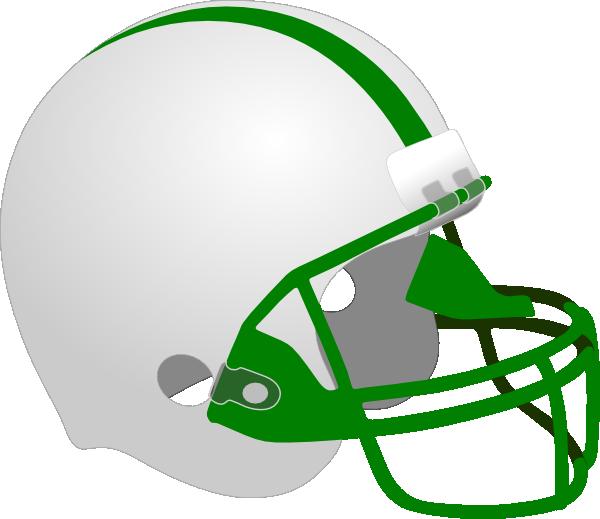 Helmet clip art at. Football helmets clipart green