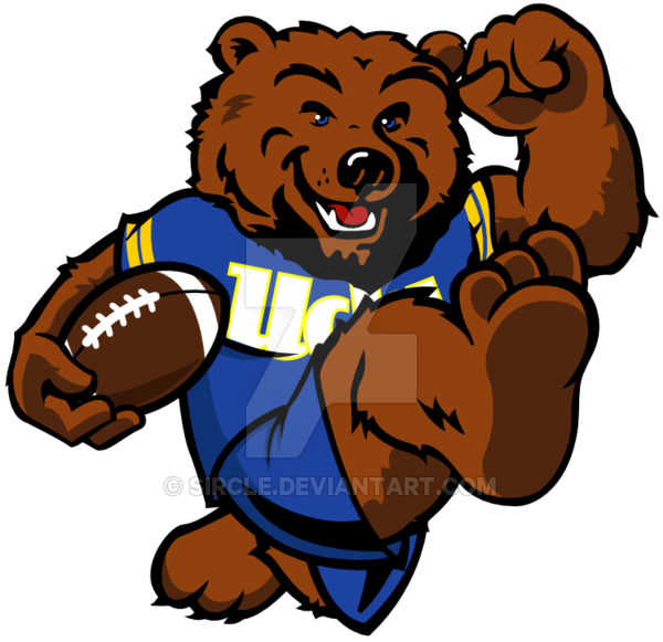 Football mascots clipart svg free stock UCLA Bruins Football by sircle on DeviantArt svg free stock