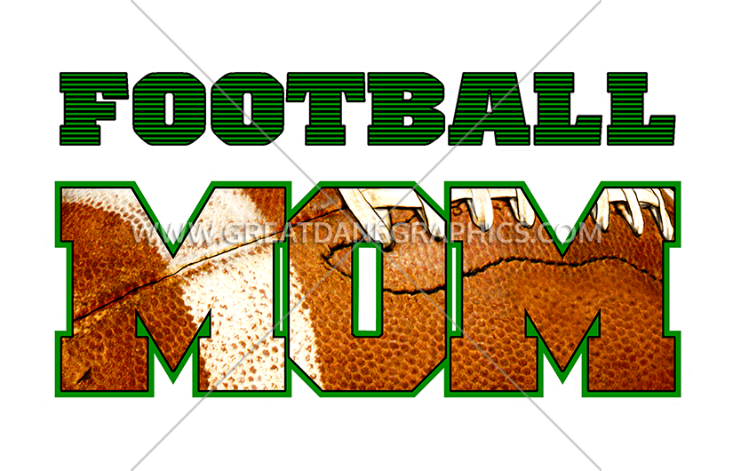 Football mom clipart black and white jpg freeuse download Football Mom | Production Ready Artwork for T-Shirt Printing jpg freeuse download