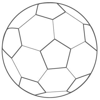 Football outline ball clipart picture freeuse stock Free Soccer Ball Outline, Download Free Clip Art, Free Clip Art on ... picture freeuse stock