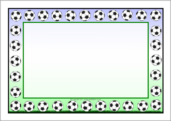 Football page border clipart jpg black and white stock Free Football Borders, Download Free Clip Art, Free Clip Art on ... jpg black and white stock