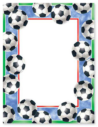 Youth soccer clipart banner clip black and white download Free Football Borders, Download Free Clip Art, Free Clip Art on ... clip black and white download