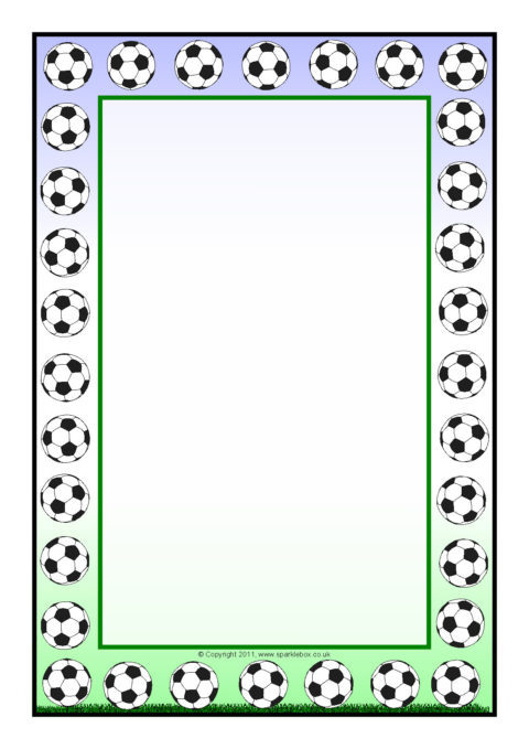 Football page border clipart clip transparent library Download football page border clipart Borders and Frames Football ... clip transparent library