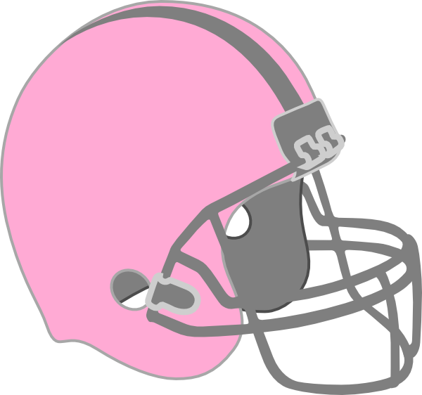 Football party clipart image library download Pink Football Helmet Clip Art at Clker.com - vector clip art online ... image library download