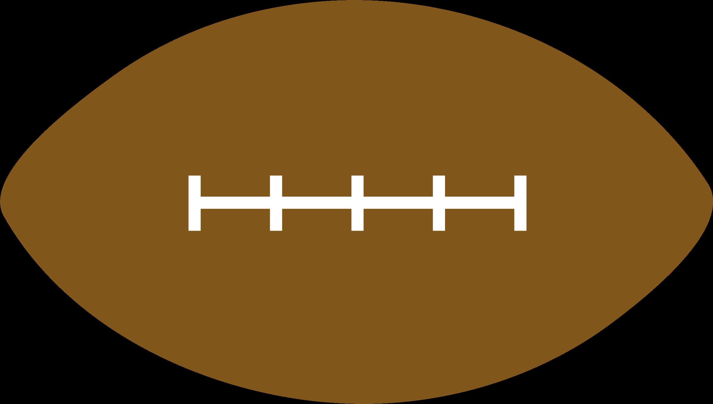 Football shape clipart banner freeuse stock Clipart - American Football banner freeuse stock