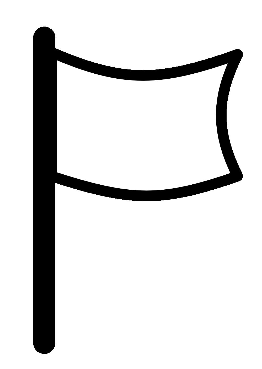 Football pennant clipart jpg black and white stock Flag Clip Art Free | Clipart Panda - Free Clipart Images jpg black and white stock