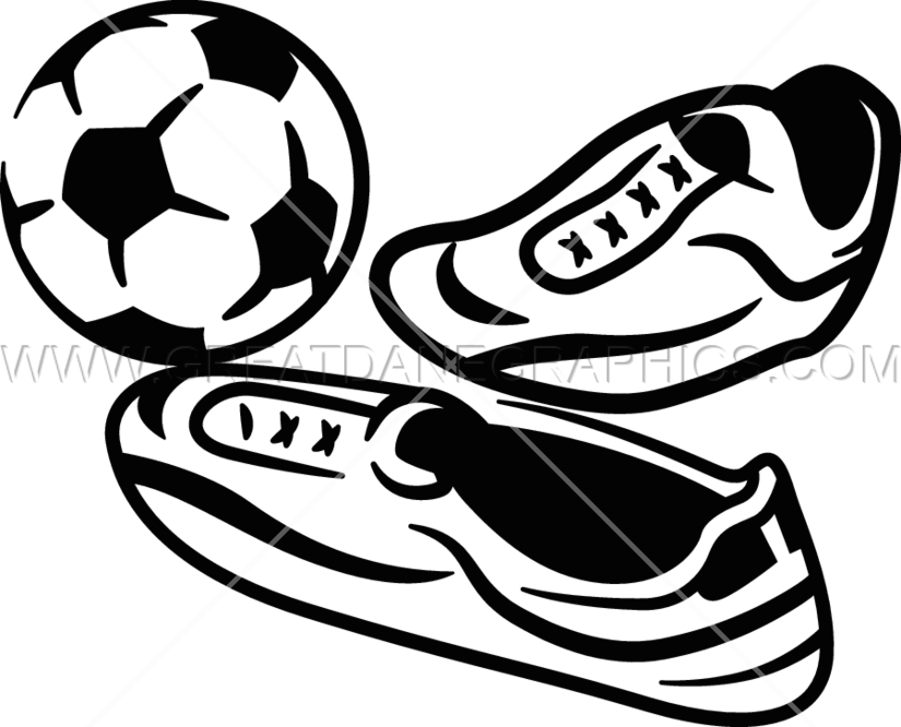 Football picture layout clipart jpg black and white download Soccer Layout | Production Ready Artwork for T-Shirt Printing jpg black and white download