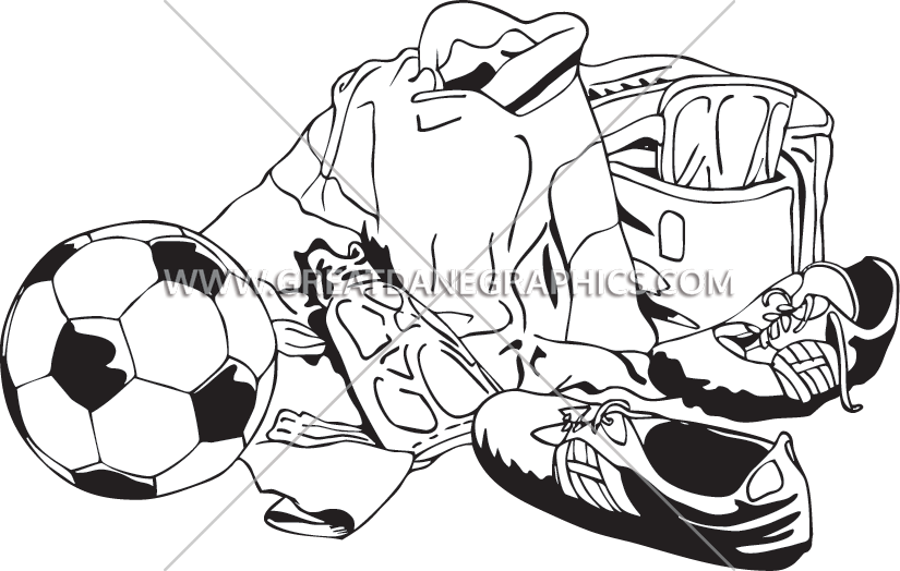 Football picture layout clipart jpg royalty free download Soccer Layout | Production Ready Artwork for T-Shirt Printing jpg royalty free download