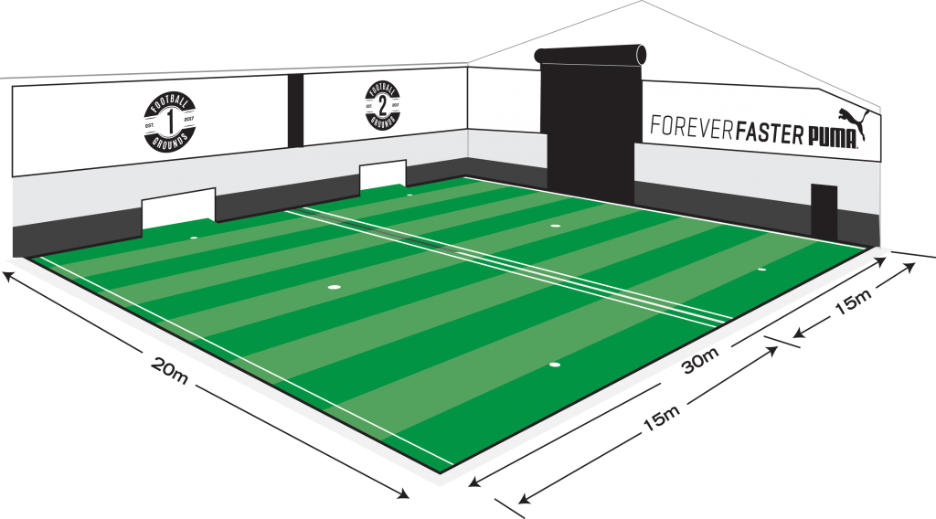 Football pitch clipart vector freeuse library Pitch Hire – The Football Grounds vector freeuse library
