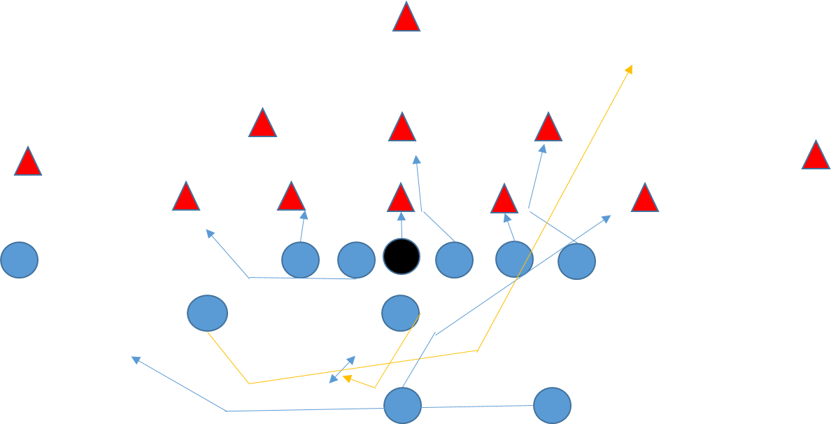Football playbook clipart freeuse download The Wing T Offense, Plays, Playbooks, and Tips - Youth Football Online freeuse download