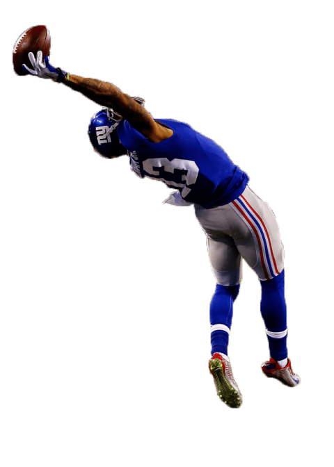 Football player catching ball clipart png transparent download american football player catching a ball png - Free PNG Images | TOPpng png transparent download