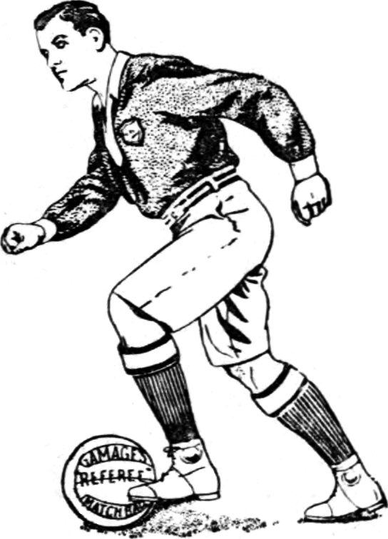Football player clipart gray clip art black and white Footballer Drawing at GetDrawings.com | Free for personal use ... clip art black and white