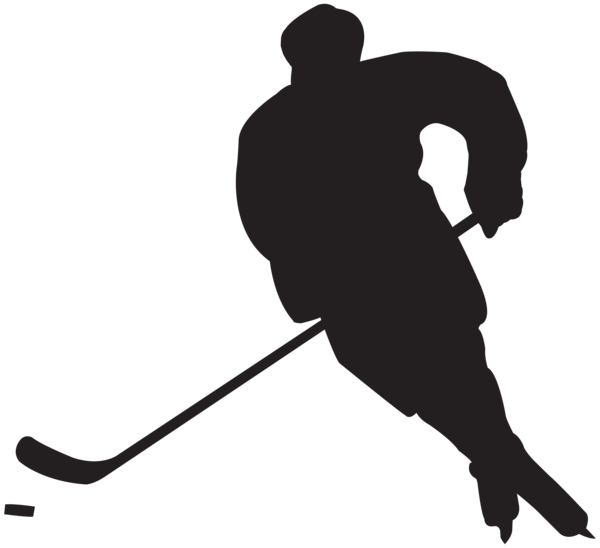 Football player clipart silhouette clip royalty free stock Hockey Player Silhouette PNG Clip Art | hockey | Pinterest | Hockey ... clip royalty free stock