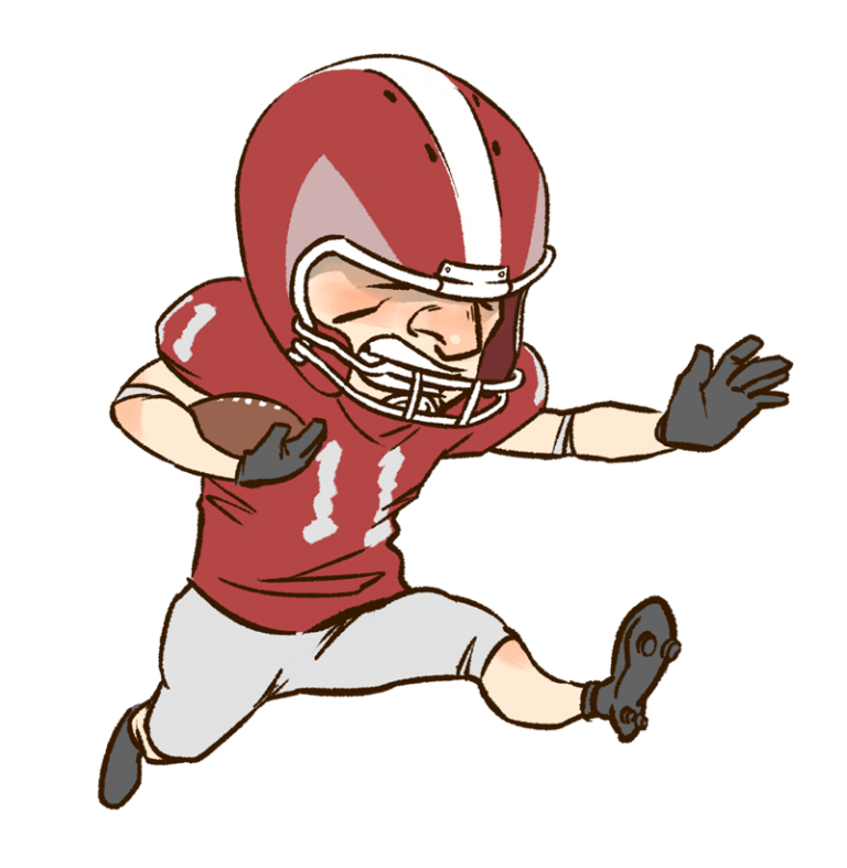 Football players tackling clipart picture freeuse library Football player tackling drawing 458077 - formulaoffroad.info picture freeuse library