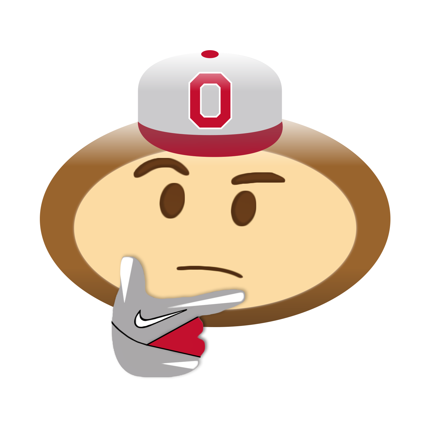 Ohio state football clipart free png transparent stock Brutus Emojis | Eleven Warriors png transparent stock