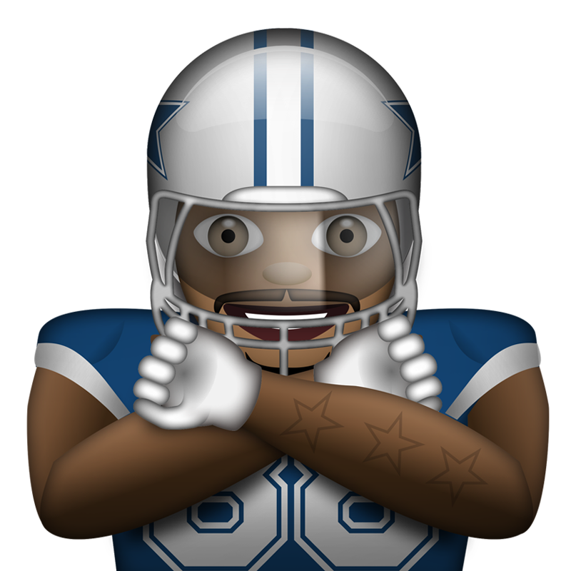 Football player emoji clipart svg free stock An NFL Emoji Keyboard Is Now Here, And It's Awesome - Daily Snark svg free stock