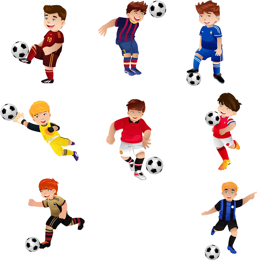 Football player free clipart vector library stock Football Play Stock photography Royalty-free - Cartoon child ... vector library stock
