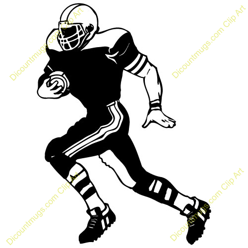 Football player on laptop clipart image Football Player Silhouette Clip Art | Football Player Catching Clip ... image